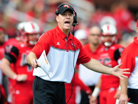 Reports purdue to target jeff brohm for head coaching position red